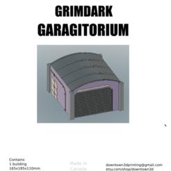 Descargar archivos 3D Garagitorio Grimdark, davidmckenzieart