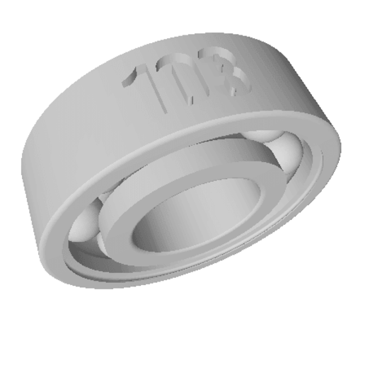 Faux Roulement PEUGEOT 103 petit.png Download free STL file False Peugeot 103 bearing • 3D printing template, Ours3DPrinting