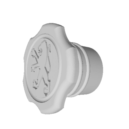 BOUCHON 103 partie 1 -1.png Download free STL file Peugeot 103 plug • 3D printer model, Ours3DPrinting