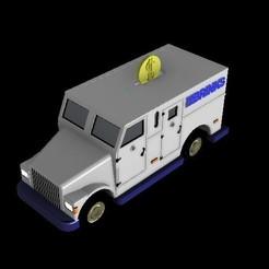 6.jpg Télécharger fichier STL Gamme de camions de la Brinks • Plan pour imprimante 3D, sebastianhoffmannm