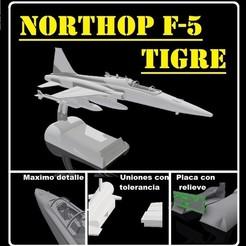Download STL files Northrop F-5 Tiger, sebastianhoffmannm