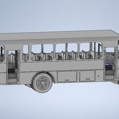 Download 3D model Urban Microbus, sebastianhoffmannm