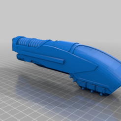 Download free 3D printer designs Interstellar Janitor's Shooty Grocery Wagon, MikeTitan