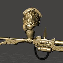 Descargar diseños 3D gratis Lanza Pirita, MikeTitan