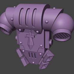 Strike Pack 1.PNG Télécharger fichier STL Sac à dos Silver Paladin Strike Duders • Design à imprimer en 3D, MagicMikeMiniatures