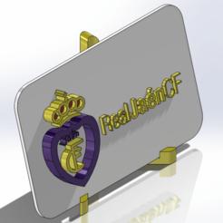 Descargar archivos 3D Placa escudo del Real Jaén CF, dakar_17
