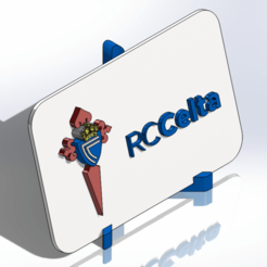 Descargar modelos 3D Placa escudo del Real Club Celta de Vigo, dakar_17