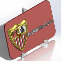 Télécharger fichier imprimante 3D Plaque de blindage du Sevilla FC, dakar_17