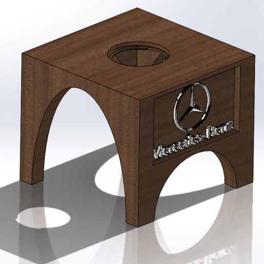 Download free 3D printer templates Mercedes badge holder - Benz, dakar_17