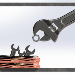 Descargar diseños 3D Nido de llaves (nest of wrenches), dakar_17
