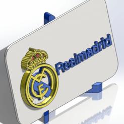 Télécharger STL Plaque de blindage du Real Madrid CF, dakar_17