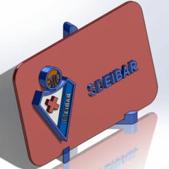 Descargar STL Placa escudo del SD Eibar, dakar_17
