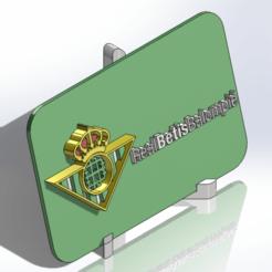 Descargar modelos 3D para imprimir Placa escudo del Real Betis Balompié, dakar_17