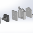 hama_total.png Download free STL file GoPro Tripod Hama Compatible • 3D printable design, flavio12