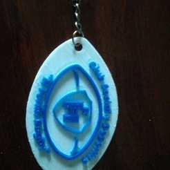 Descargar archivo 3D Key Chain Club ElFortin, cuat3d
