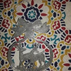 Descargar archivo 3D Ciervos Navideños - Christmas deer, cuat3d