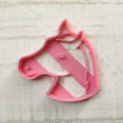 Horse.jpeg Download STL file Horse Cutter • 3D printer object, ivandetitto
