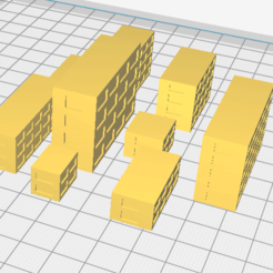 Download free 3D printing models 	high-rise buildings for the layout, chernyavskayasve