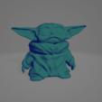 Screenshot_6.png Télécharger fichier OBJ gratuit Bébé Yoda • Plan pour imprimante 3D, chernyavskayasve