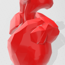 Download free 3D printer templates  heart shaped vessel, chernyavskayasve