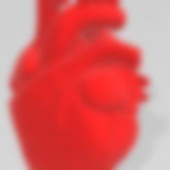 Download free 3D printer designs Heart Anatomical, chernyavskayasve