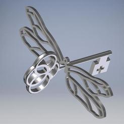 Descargar Modelos 3D para imprimir gratis Llave Voladora, luckgreenwood