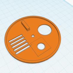 Honey Bee Nuc disc 3_.png Télécharger fichier STL gratuit Disque de Nuc d'abeille au miel • Modèle pour impression 3D, frostydicegaming