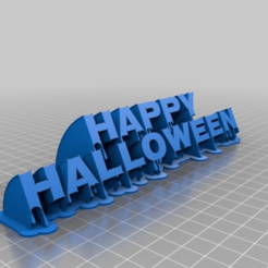 Download free 3D print files Happy Halloween: Nosifer Sweeping 2-Line, jazzhands