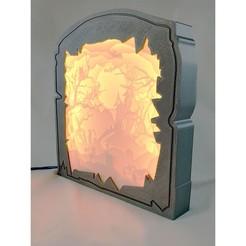 14-new1square.jpg Download STL file Halloween Light Art • 3D print template, luckyx182