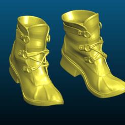 Screenshot_2020-10-23_19-09-56.png Descargar archivo STL gratis Zapatos de Gabi - zapatos de stiefel - Remix • Diseño para impresión en 3D, Tse