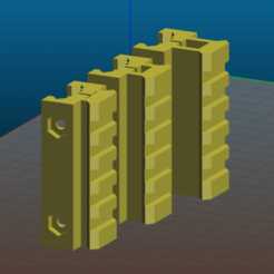 Screenshot_2020-04-18_15-45-25.png Download free STL file Picatinny riser for AR15, M4, M16 AK - 60mm length, 5 slots, 3 different heights • 3D printer object, Tse