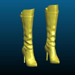 Screenshot_2020-10-24_12-25-18.png Descargar archivo STL gratis Botas de Ava - zapatos de tacón alto para mujeres - Remix • Objeto para imprimir en 3D, Tse