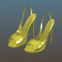 Screenshot_2020-10-20_22-29-15.png Descargar archivo 3MF gratis Sexy Heels - Zapatos de mujer - Tacones altos - Remix • Diseño para impresión en 3D, Tse