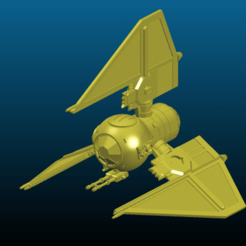 Screenshot_2020-10-10_23-56-50.png Télécharger fichier STL gratuit Star Wars - TIE Heavy tri-fighter / TIE Heavy Clutch MK2 - Ugly - Kitbash • Design pour impression 3D, Tse