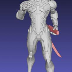 Screenshot_2020-08-08_17-33-57.png Télécharger fichier STL gratuit La figure de Genji a séparé des sabres - Remix • Modèle imprimable en 3D, Tse