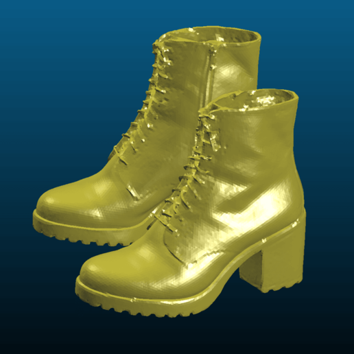Screenshot_2020-08-08_23-01-18.png Download free STL file Leather boots / women stiletto shoes - 3D scan - Remix • 3D printable object, Tse