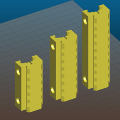 Screenshot_2020-11-05_17-18-40.png Download free STL file Picatinny riser for AR15, M4, M16, AK - 80mm and 100mm length, 7 and 9 slots, 16mm height • 3D printable object, Tse