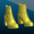Screenshot_2020-08-08_23-01-48.png Download free STL file Leather boots / women stiletto shoes - 3D scan - Remix • 3D printable object, Tse