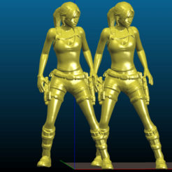 Screenshot_2020-07-17_21-13-55.png Download free STL file Lara Croft - Remix - smoothed and hollowed for 6 inch and 3.75 inch scales • Design to 3D print, Tse