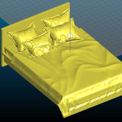 Screenshot_2020-08-22_19-07-26.png Télécharger fichier 3MF gratuit Lit et accessoires - Remix • Plan pour impression 3D, Tse