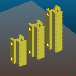 Screenshot_2020-11-06_16-57-43.png Download free STL file Picatinny riser for AR15, M4, M16, AK - 80mm and 100mm length, 5, 7 and 9 slots, 25mm height • 3D printing design, Tse