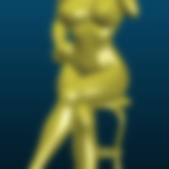 Screenshot_2020-08-29_14-55-13.png Download free 3MF file Naked girl sitting on chair - Anime style - Remix • Design to 3D print, Tse