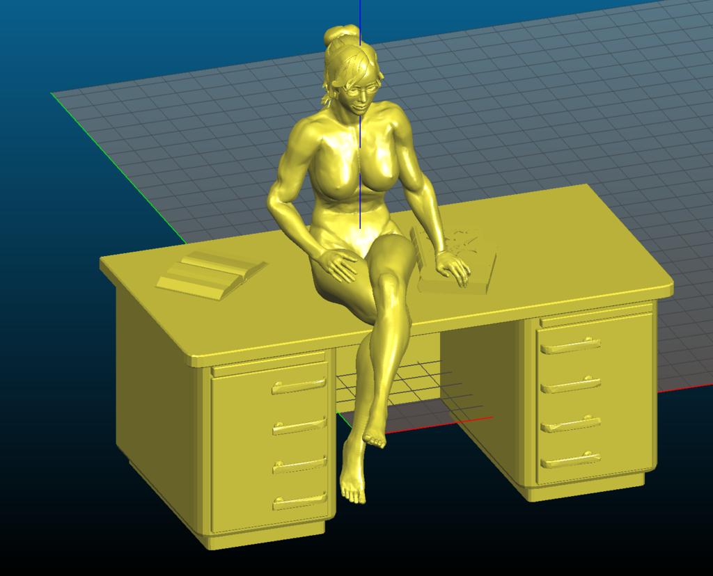 Screenshot_2020-09-27_17-54-42.png Download free STL file Sexy teacher sitting on the desk - Remix • 3D printable object, Tse