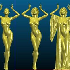 Screenshot_2020-09-24_22-42-38.jpg Download free STL file The Seductress - fixed robe - Remix • 3D printer model, Tse