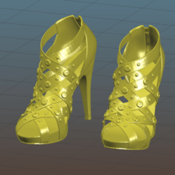 Screenshot_2020-10-20_22-17-43.png Download free 3MF file Sexy Heels - Women Shoes - High Heels - Remix • 3D print object, Tse
