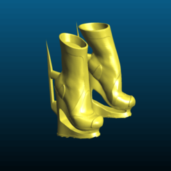 Screenshot_2020-10-24_12-36-51.png Download free STL file Sunny's Sci-Fi boots - futuristic women shoes - Remix • 3D printable object, Tse
