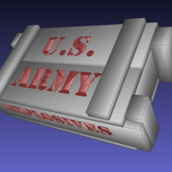 Screenshot_2020-08-05_23-37-18.png Download free STL file Wood crate, ammo box, US Army stencil - import from CGTRADER • 3D printer design, Tse