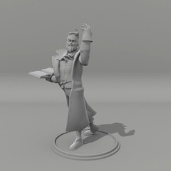 Descargar diseños 3D Wizard Dungeons and Dragons, rafagantz