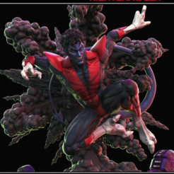 Download free 3D printing files X men nightcrawler, dandy_Iion