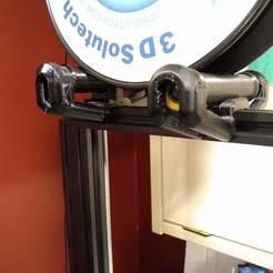 cr10s_pro_roller_supports.jpg Télécharger fichier STL gratuit 2020 Support à rouleaux de 80 mm • Design pour impression 3D, weeatspamalot